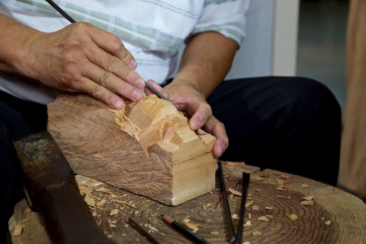 紙紮文化-傳統木雕